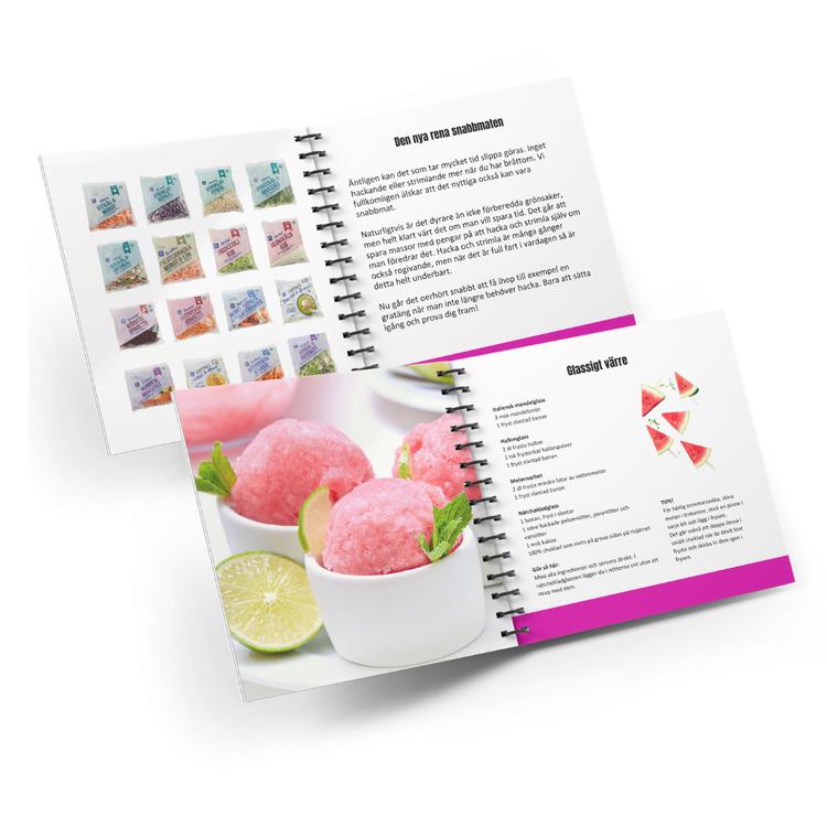 Skolfamiljens erbjudande - Sockerfri Fastfood bok + magazine