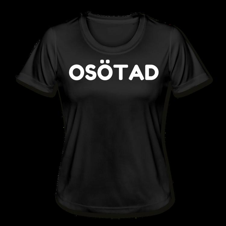 OSÖTAD FUNKTIONS T-SHIRT SVART/VIT