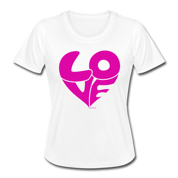 T- SHIRT LOVE VIT /PINK