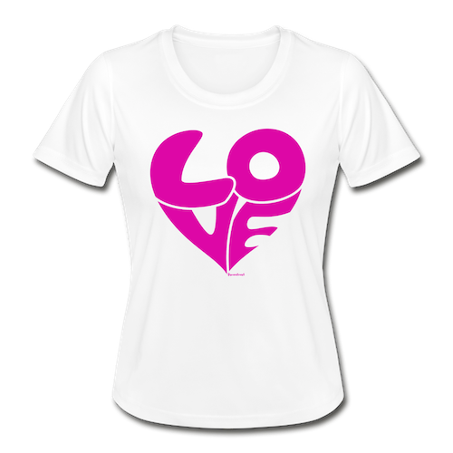 T- SHIRT LOVE VIT /PINK