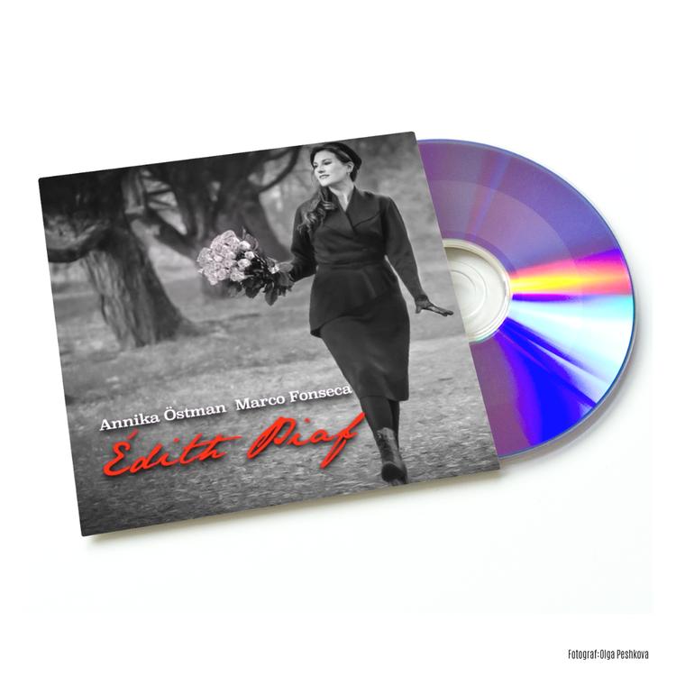 CD ANNIKA ÖSTMAN - EDITH PIAF