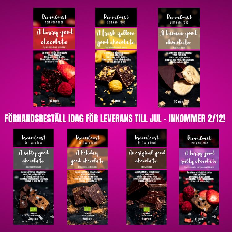 A HOLIDAY GOOD CHOCOLATE - CEYLONKANEL & KARDEMUMMA 90 GRAM