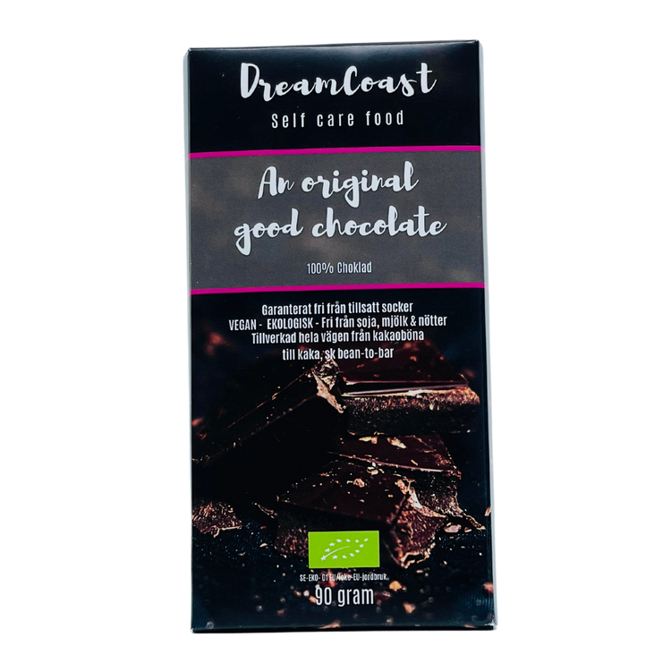 AN ORIGINAL GOOD CHOCOLATE - EKOLOGISK SOCKERFRI CHOKLAD  - 90 gram