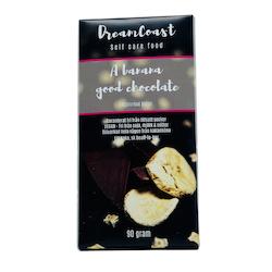 A BANANA GOOD CHOCOLATE - FRYSTORKAD BANAN 90 GRAM