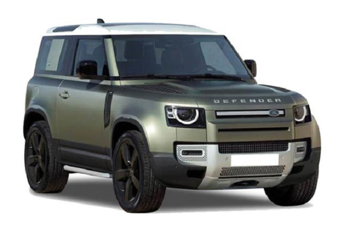 Window tint film for the Land Rover Defender Suv 3-d.
