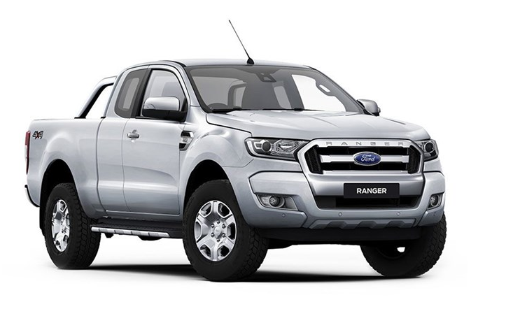 Window tint film for the Ford Ranger Super cab.