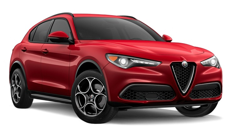 Precut window tint film for Alfa Romeo Stelvio.