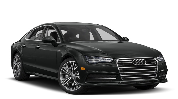 Precut window tint film for Audi A7.