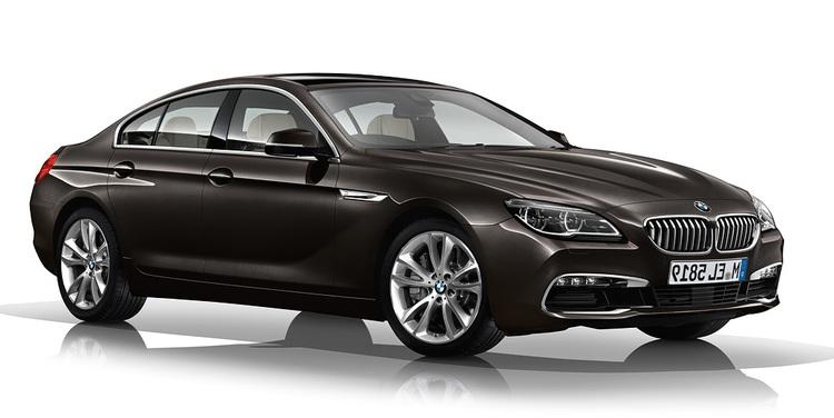 Precut window tint film for BMW 6-serie Gran Coupé.