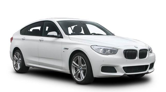 Precut window tint film for BMW 5-serie Gran Turismo.