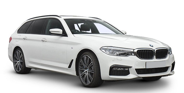 Precut window tint film for BMW 5-serie Touring.