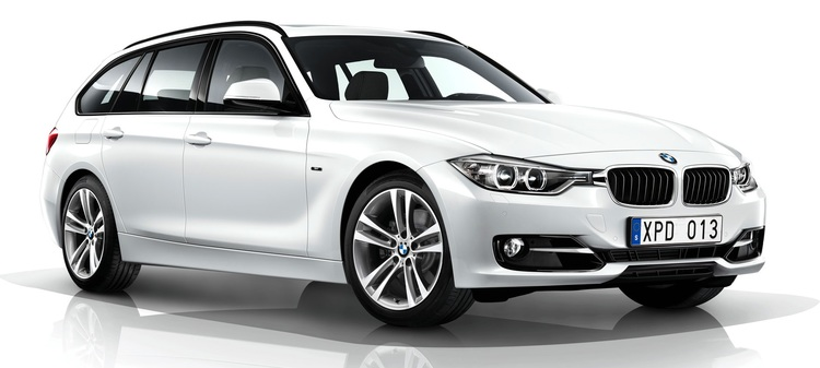 Precut window tint film for BMW 3-serie Touring.