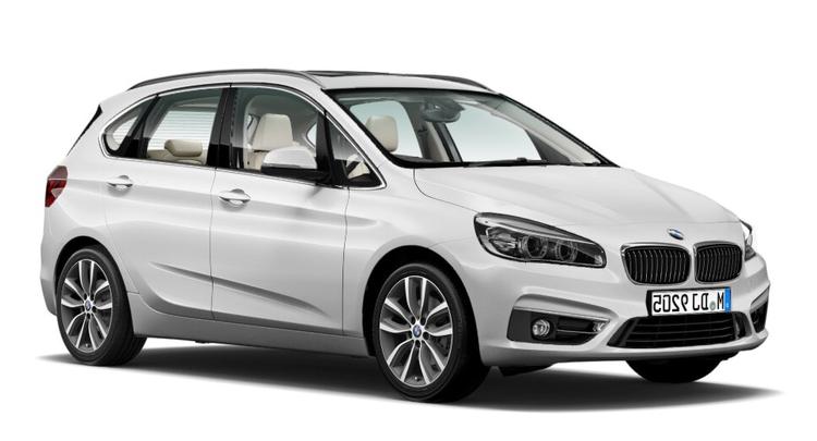 Precut window tint film for BMW 2-serie Active Tourer.