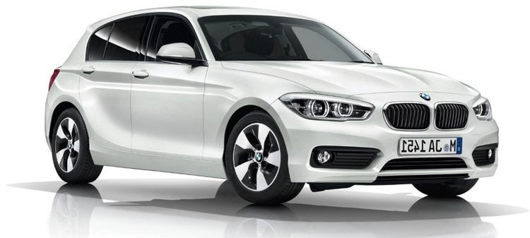 Precut window tint film for BMW 1-serie 5-d.