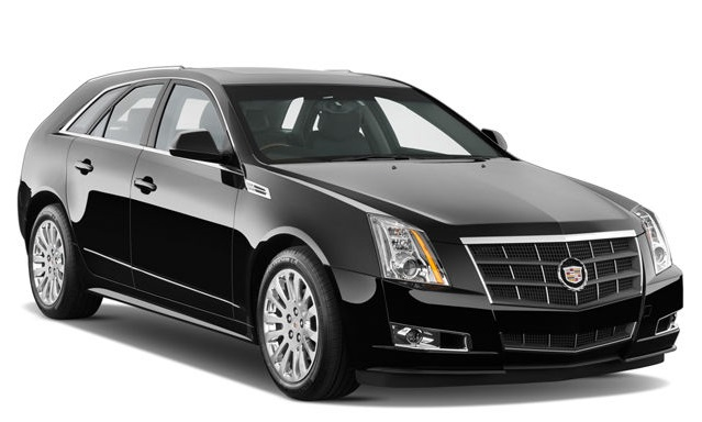 Precut window tint film for Cadillac CTS.
