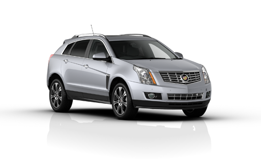 Precut window tint film for Cadillac SRX.
