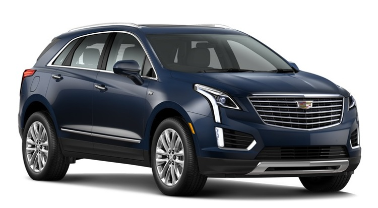 Precut window tint film for Cadillac XT5.