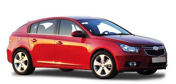 Precut window tint film for Chevrolet Cruze 5-d.