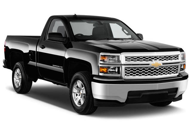 Precut window tint film for Chevrolet Silverado.