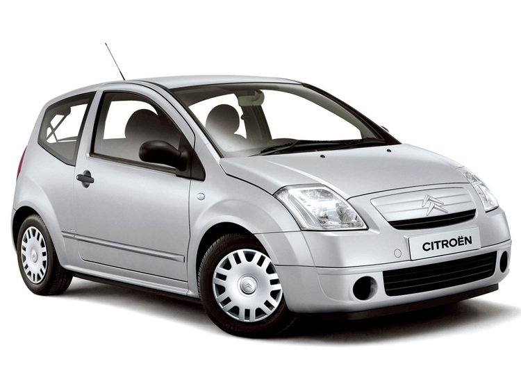 Precut window tint film for Citroën C2 3-d.