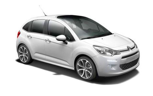 Precut window tint film for Citroën C3 5-d.