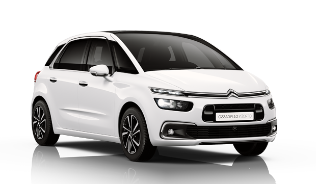 Precut window tint film for Citroën C4 Picasso.