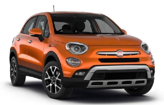 Precut window tint film for Fiat 500X.