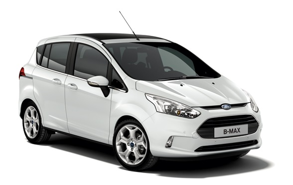 Precut window tint film for Ford B-Max.
