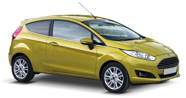 Precut window tint film for Ford Fiesta 3-d.