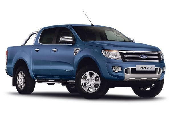 Precut window tint film for Ford Ranger Double Cab.