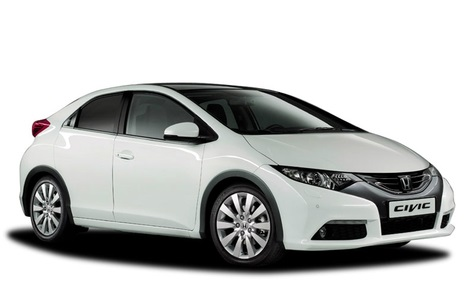 Precut window tint film for Honda Civic 3-d.