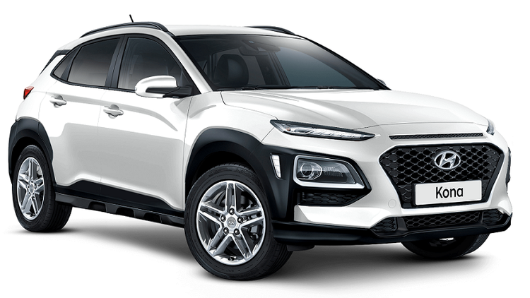 Precut window tint film for Hyundai Kona.