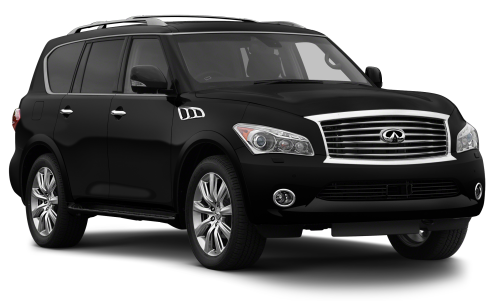 Precut window tint film for Infiniti QX56.