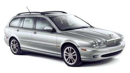 Precut window tint film for Jaguar X-type Estate.