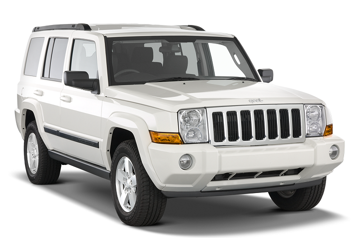 Precut window tint film for Jeep Commander.