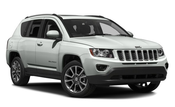 Precut window tint film for Jeep Compass.