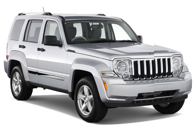 Precut window tint film for Jeep Liberty.