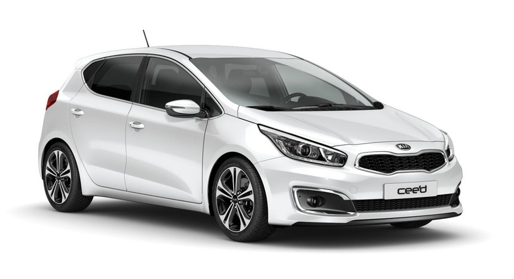 Precut window tint film for Kia Ceed 5-d.