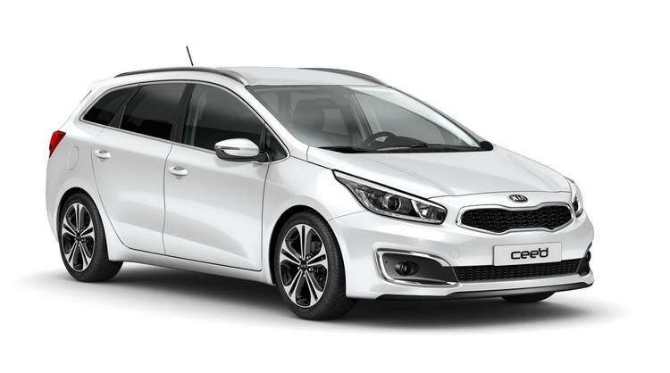 Precut window tint film for Kia Ceed Sportswagon.