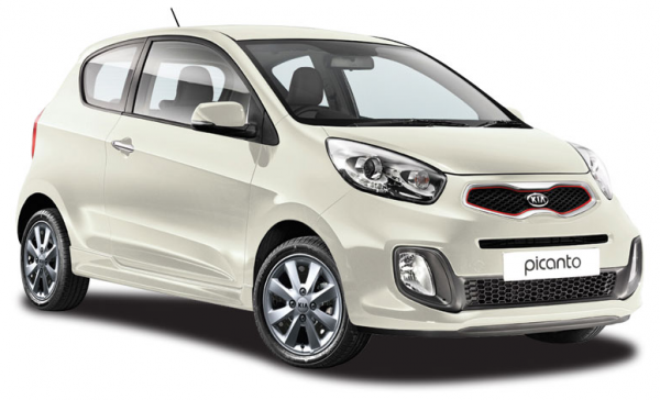 Precut window tint film for Kia Picanto 3-d.