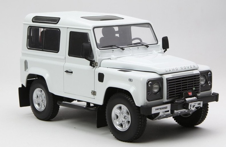 Precut window tint film for Land Rover Defender 90.