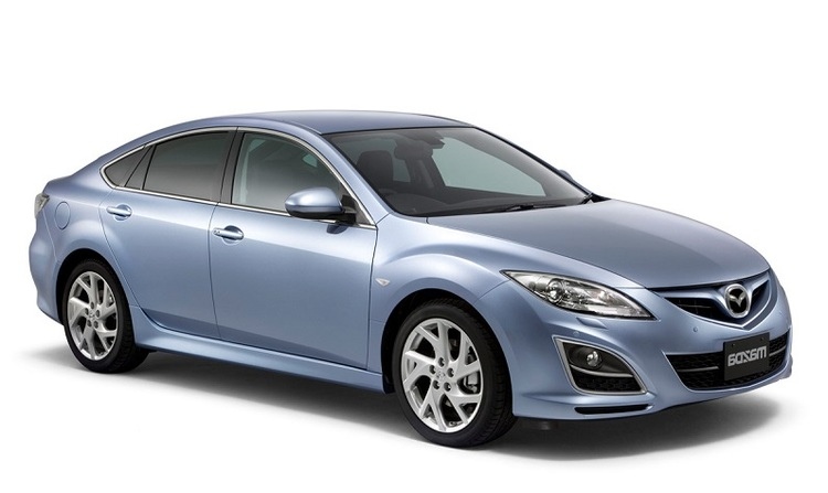 Precut window tint film for Mazda 6 Hatchback.