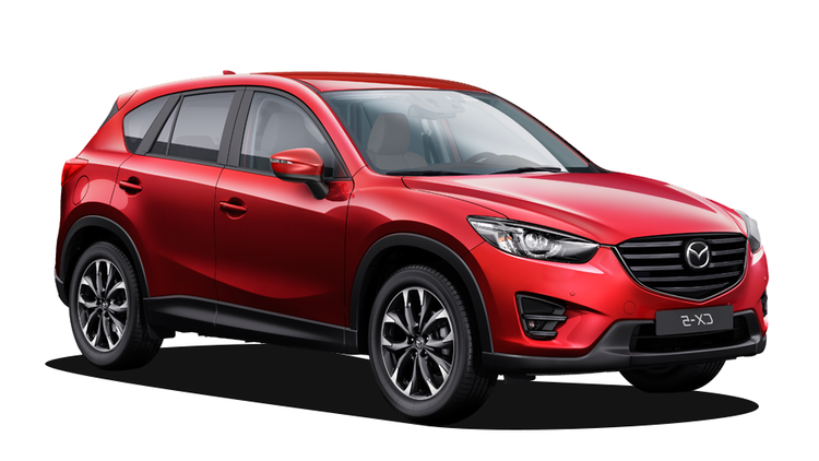 Precut window tint film for Mazda CX-5.