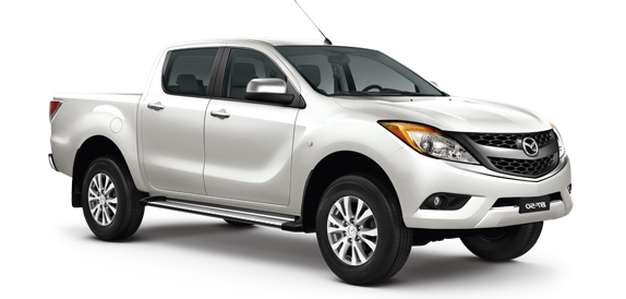 Precut window tint film for Mazda BT-50 Double Cab.