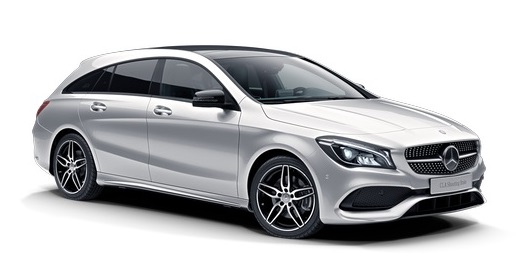 Precut window tint film for Mercedes CLA Shooting Brake.