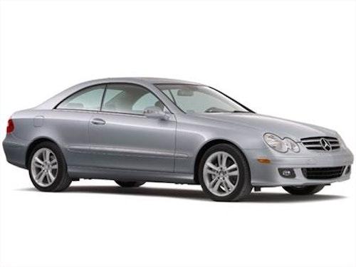 Mercedes CLK-Klass coupé