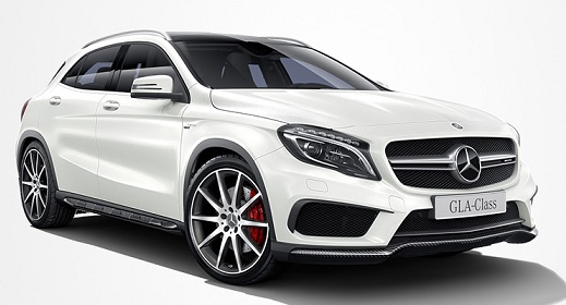 Precut window tint film for Mercedes GLA.