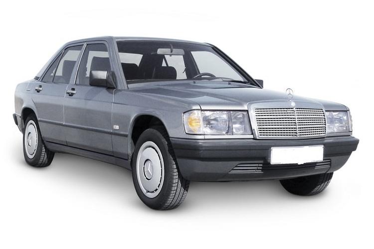 Precut window tint film for Mercedes 190.