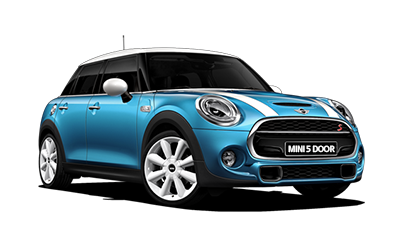 Precut window tint film for Mini One 5-d.