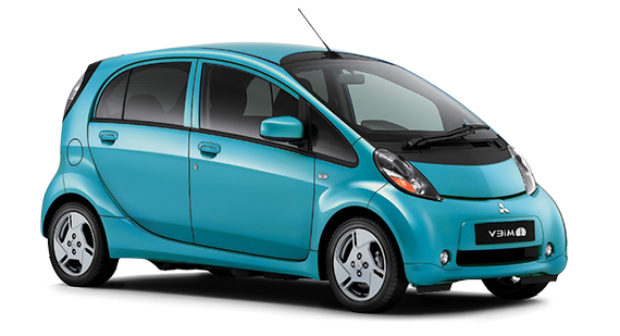 Precut window tint film for Mitsubishi I-Miev.